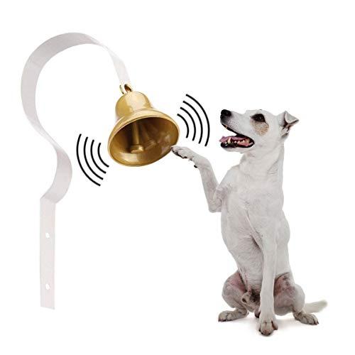 Campana de entrenamiento para mascotas, campanas de Shopkeepers, propietario de tiendas, antiguo, propietario de tienda montado en la pared, para entrenamiento de gatos, decoración para tiendas
