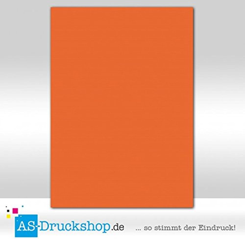 Farbiges Papier     Schreibpapier - Orange   50 Blatt   DIN A4   220 g-Papier B0794X42FV  | Charakteristisch  0f29f4
