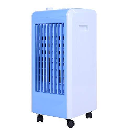 Ejoyous Aircooler | Mobile Klimaanlage | Klimagerät | Luftreiniger | Klima | Ventilator mit Fernbedienung | Luftkühler | Luftbefeuchtung | Klima Anlage |(Blau)