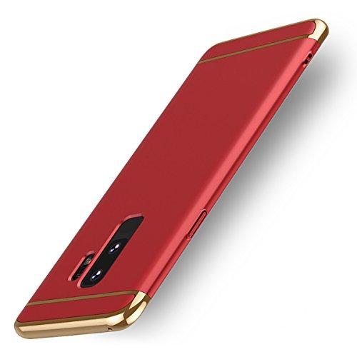 SDB Funda Galaxy S9 Slim Carcasa Case, Estilo Simple Ultra Crash PC...
