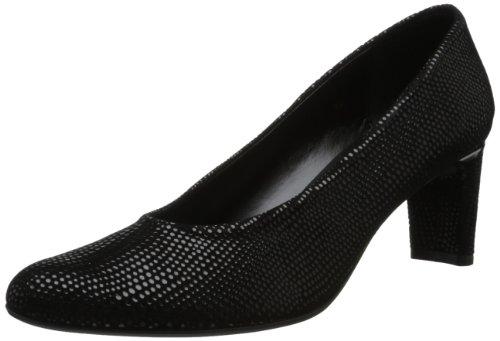 VANELi Women's Dayle Dress Pump,Black E-Print,9 W US -  795250348179