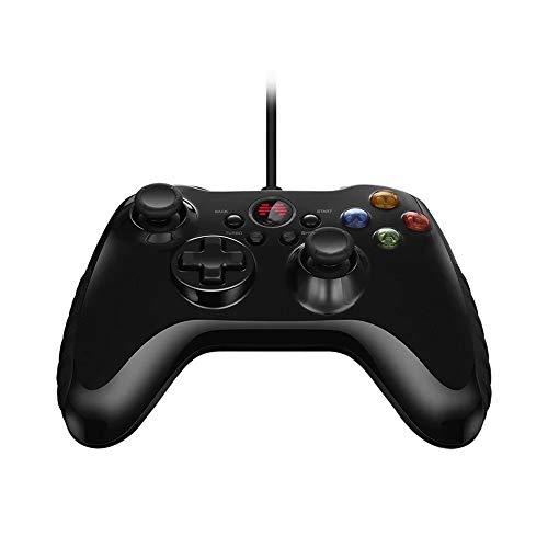 YAzNdom Gamepad Manette de Jeu Filaire Gamepad avec Joystick for PC Android Convient Aux Jeux (Color : Black, Size : One Size)