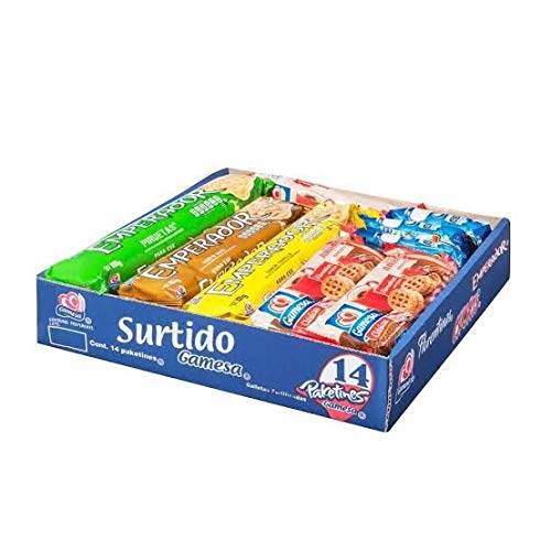Gamesa Surtido De Galletas - 14 Paketines