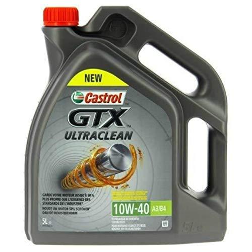 Castrol GTX Ultraclean 10w40 A3/B3 - Aceite de motor (5 L)