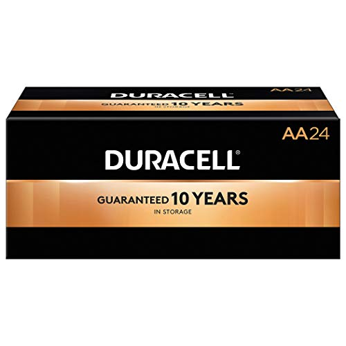Duracell 2768001 Coppertop AA Alkaline Batteries 24/Pack (MN1500BKD)