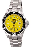 Invicta Men's Pro Diver Stainless Steel Automatic Watch, Silver/Yellow (Model: 3048)