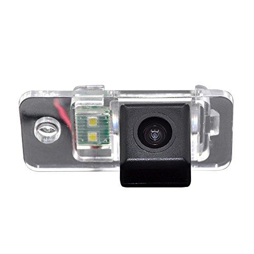 HDMEU Assistance de Stationnement de Véhicule de Kit D'appareil-photo D'inverse de Voiture avec Vision Nocturne Imperméable D'IP67 pour A3/A4/A6L/Q7/S5/S8/A7/A8L