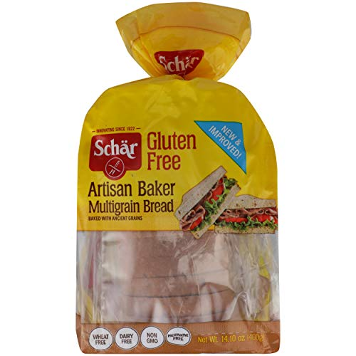 Schar Multigrain Bread, 14.10 Loaf (Pack of 3)