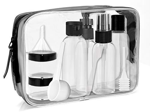 MyGadget Kit Voyage Pochette en Plastique Transparent...