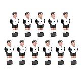11 piezas de repuesto de jugador de fútbol de mesa de 1,4 m, jugador de fútbol de mesa, accesorios de fútbol de mesa, muñeco de figura, maravilloso accesorio de repuesto para fútbol de mesa, fácil de