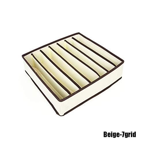 nhnhn 1 PC Opbergtas Ondergoed Opbergdoos Huishoudelijke Niet-geweven Stof Sjaal Lade Kast Bra Pouch Sokken Closet Organizer