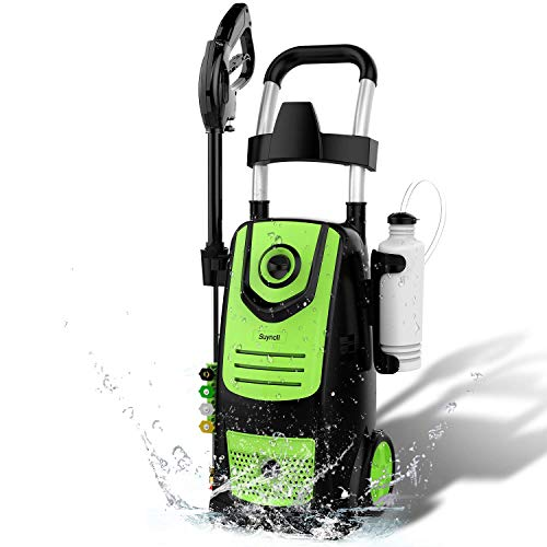 Suyncll 3800 PSI 2.8GPM Electric Pressure Washer, 1800W Electric Power Washer for Home Use with...