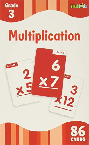 Multiplication (Flash Kids Flash Cards)
