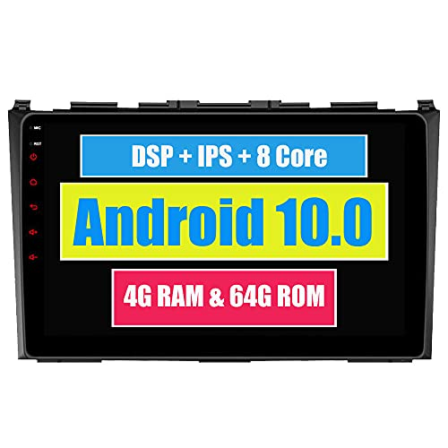 RoverOne 9 Pouces Système Android Octa Core pour Honda CRV 2006 2007 2008 2009 2010 2011 Lecteur multimédia de Voiture avec autoradio stéréo Radio de Navigation GPS Bluetooth Mirror Link écran Tactile