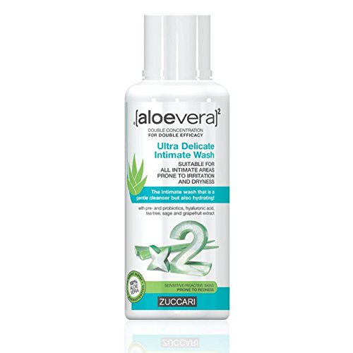 Zuccari Aloevera 2 Detergente Intimo Ultradelicato, 1 x 250 ml
