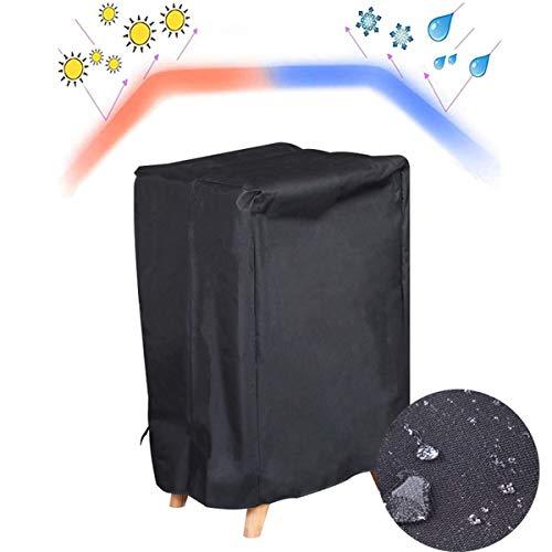 KINGEE Funda para Barbacoa Impermeable, Cubierta para Barbacoa Protector, Anti-Viento/UV/Impermeable Resistente Al Desgarro Oxford para Barbacoa, con Cuerda De Bloqueo