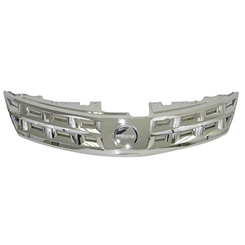 Perfit Liner New Front Chrome Grille Grill Compatible With NISSAN Murano SUV Fits NI1200200 62310CA000