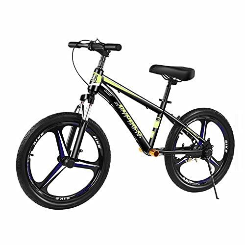 Bicicleta Sin Pedales Equilibrio 16 Pulgadas / 20 Pulgadas Bicicleta de Equilibrio con Frenos Grande Sin Pedal Bicicleta Portátil para Big Niño/ Adultos de 5 a 15 Años, Asiento Ajustable, Carga: 100kg