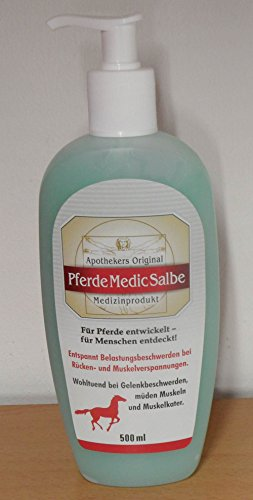 PFERDEMEDICSALBE Apothekers Original Spender 500 ml Gel