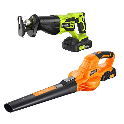 20V Cordless Leaf Blower with Reciprocating Saw