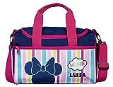 Sporttasche mit Namen | Bedrucken & Personalisieren | Minnie Mouse | Reisetasche | Kindertasche...
