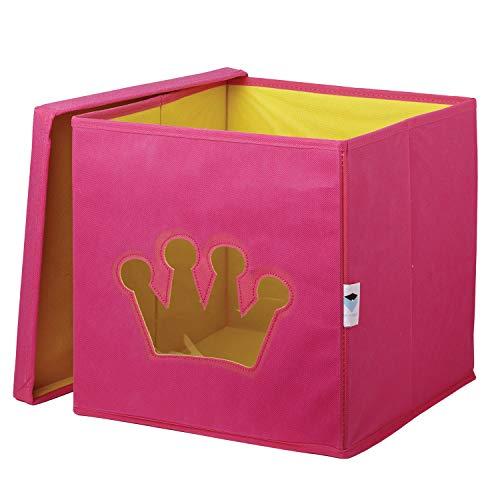 STORE.IT 750008 - Caja, 30 x 30 x 30 cm, Color Rosa