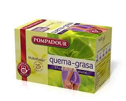 Pompadour - Tee Fettverbrennung - Pack 25 Beutel