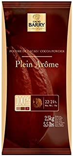 Poudre de Cacao Plein Arome Cocoa Barry (Cocoa Powder), 2.2-Pound Package by Cacao Barry