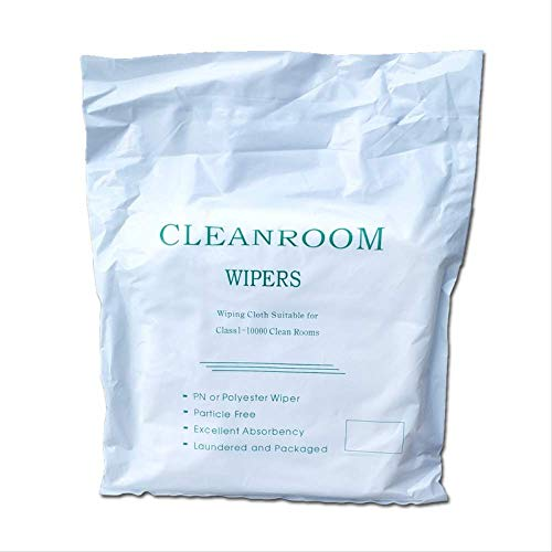 NOBRAND WHSG Sub-Superfine stofvrije doeklens reinigende stofverwijderende doek polyester vezel anti-statische stofvrije doek 4 * 4 Inch 360 Sheets/Bag
