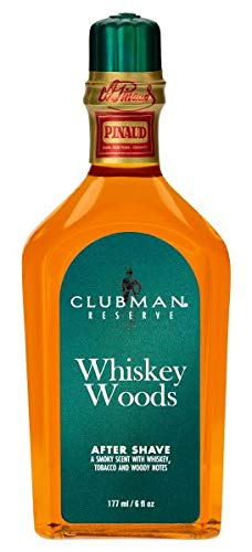 Clubman Reserve -Whiskey Woods After Shave Lotion (Pack of 2)