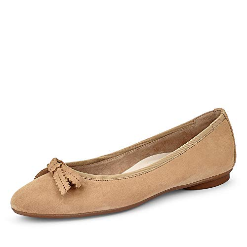 Paul Green 2579 Damen Ballerinas Beige, EU 43