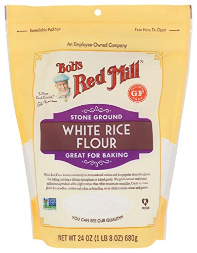 Bob's Red Mill Gluten Free White Rice Flour, 24 Ounce (Pack of 1)