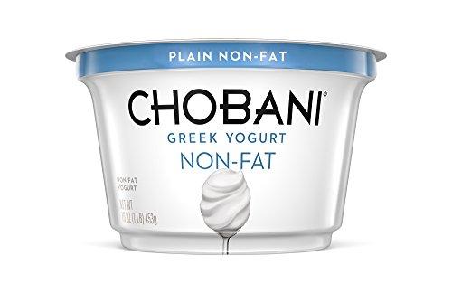 Chobani, Nonfat Greek Yogurt, Plain 16 oz