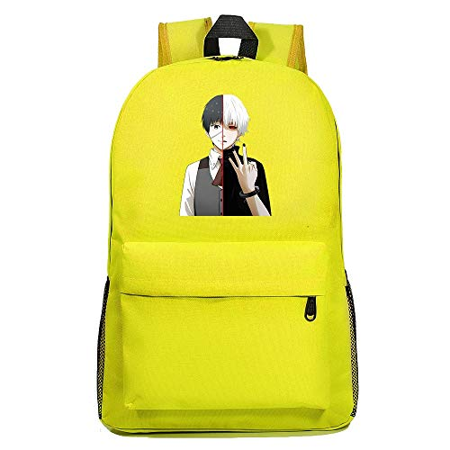 XYUANG Tokyo Ghoul Starry Sky Color Backpack School Casual Daypack Rucksack Business College Travel-c
