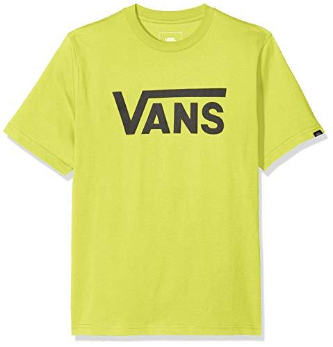 Vans Classic Boys T-Shirt, Giallo (Sulphur Spring/Black Ynd), X-Large Bambino