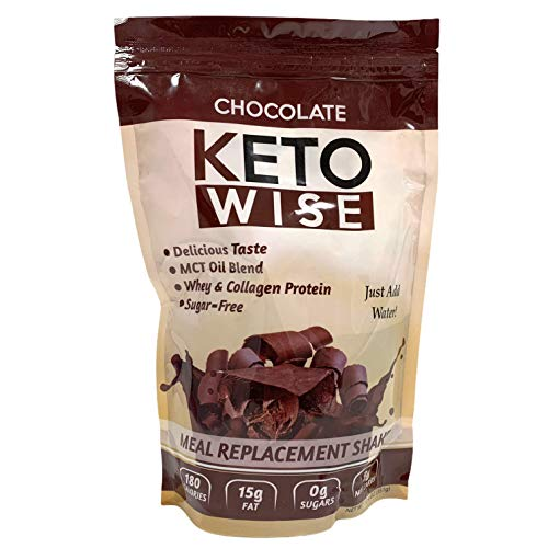 Keto Wise Chocolate Meal Replacement Shake 351g