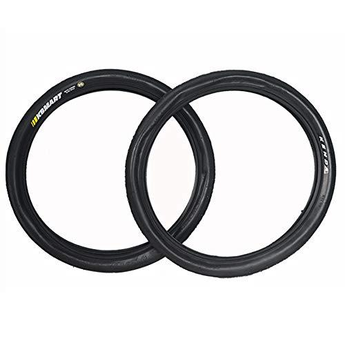 DUXIUYING 16.135 Neumáticos de Bicicleta de montaña 2 Piezas, Neumático de Alambre de Cuentas de Bicicleta MTB para montaña con Bomba de Bicicleta de 9,8 Pulgadas