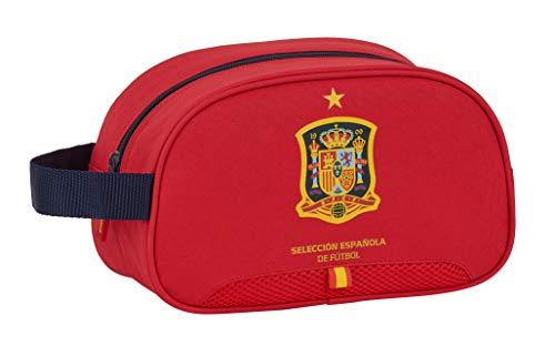Neceser Safta Escolar Infantil Mediano con Asa de Selección Española de Fútbol, 260x120x150mm