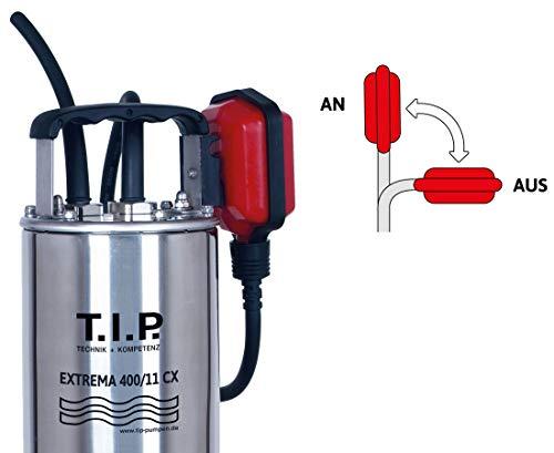 T.I.P. Extrema 400/11 Pro Schmutzwasserpumpe - 5