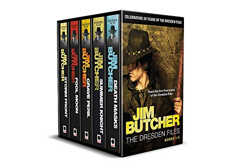 Jim Butcher's Dresden Files - 20th Anniversary Box Set: Books 1-5 in series