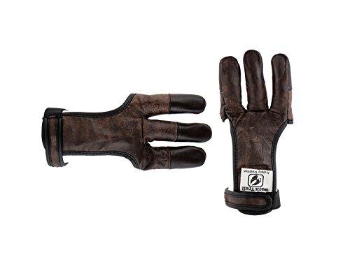 Buck Trail HSE-B-19349 Schiesshandschuh Bogenhandschuh Fingerschutz Gr. L