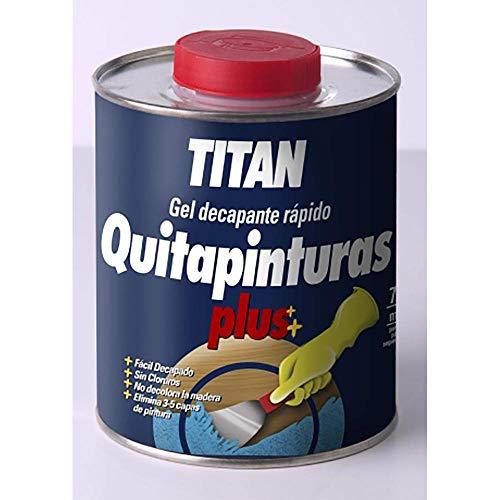 Titanlux - Gel decapante rápido- Quitapinturas plús, , 375 ML (ref. 05D000138)