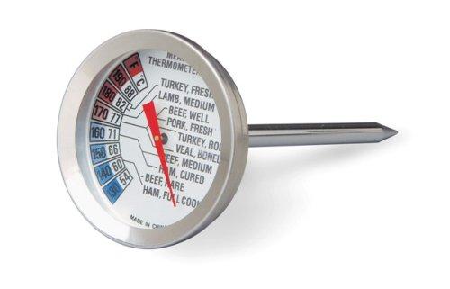 Lacor 62452 Thermomètre à Cadran avec Sondepour Viande