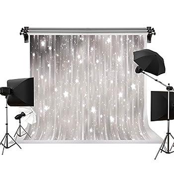 Kate 7x5ft/2.2m W  x1.5m H  Winter Snowflake Backdrops Photography Frozen Bokeh Background Photography Studio Backdrop
