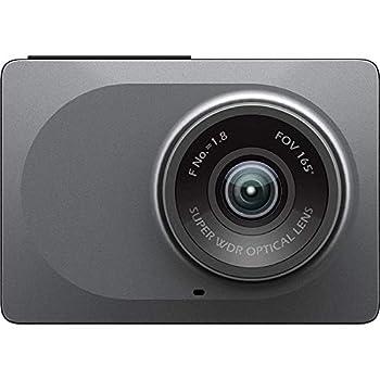 DBA YI 2.7  Screen Full HD 1080P60 165 Wide Angle Dashboard Camera Car DVR Vehicle Dash Camera with G-Sensor WDR Loop Recording Grey