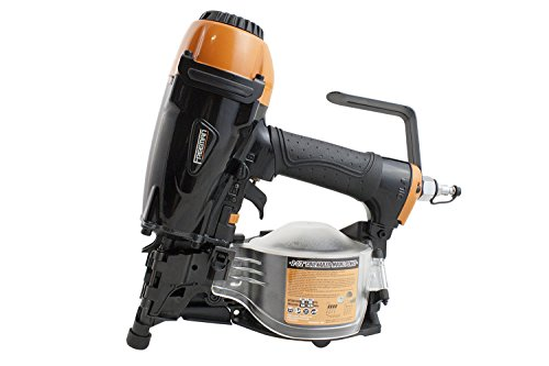 Freeman PCN65 Pneumatic 15 Degree 2-1/2' Coil Siding Nailer Ergonomic and Lightweight Nail Gun with Tool-Free Depth...