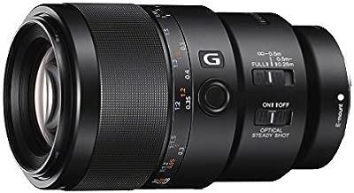 Sony SEL90M28G FE 90mm f/2.8-22 Macro G OSS Standard-Prime Lens for Mirrorless Cameras,Black