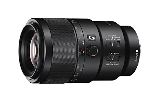 Sony SEL90M28G FE 90mm f/2.8-22 Macro G OSS Standard-Prime Lens for Mirrorless Cameras,Black