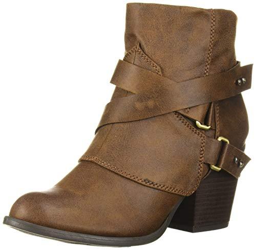 Fergalicious Women's Lethal Fashion Boot, Cognac, 11 M M US