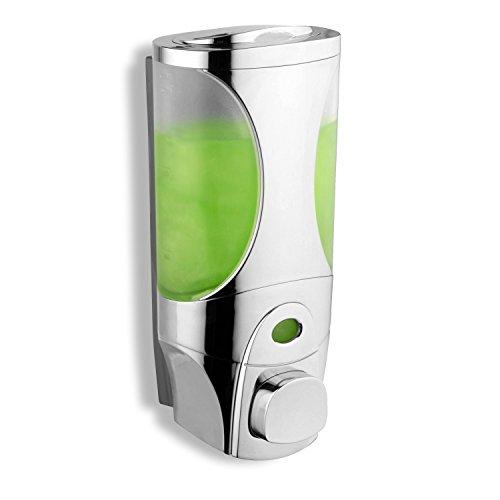 HotelSpa Curves Luxury Soap/Shampoo/Lotion Modular-design Shower Dispenser System (Pack of 1)